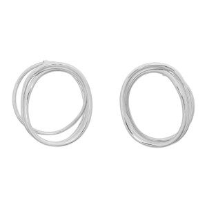 Completedworks Silver An Interval Between Thunderstorms Earrings
