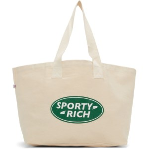 Sporty and Rich Beige Land Rover Inspired Tote