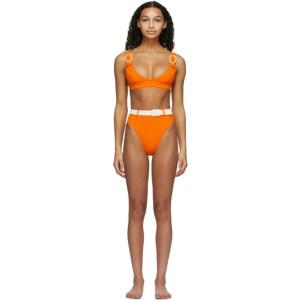 Medina Swimwear Orange Typhoon Bikini