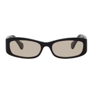 Port Tanger Black and Brown Leila Sunglasses