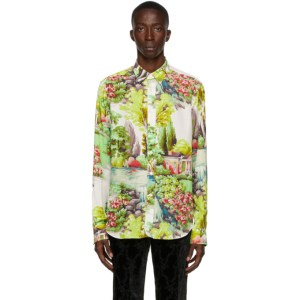 Paul Smith 50th Anniversary Multicolor Printed Tailored Shirt