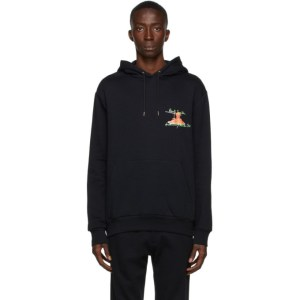 Paul Smith 50th Anniversary Black Logo Spaghetti Hoodie