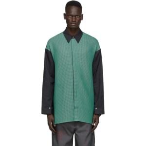 NAMESAKE Green Weave Jade Shirt