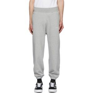 Awake NY Grey Embroidered Logo Lounge Pants
