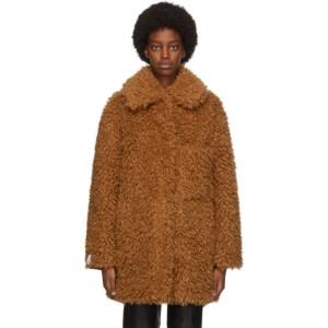 Stella McCartney Brown Fuzzy Josephine Jacket