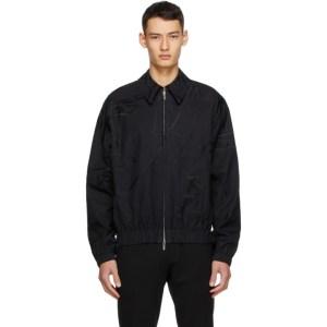 Sean Suen SSENSE Exclusive Black Embroidered Jacket