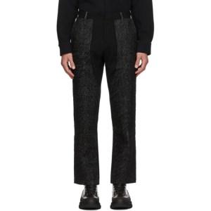 Sean Suen Grey Wool Trousers