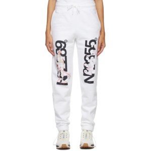 The DSA White NO2289/2355 Lounge Pants