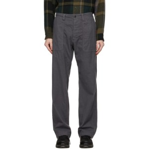 tss Grey Check Fatigue Trousers