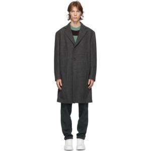 DOPPIAA Grey Antistene Coat