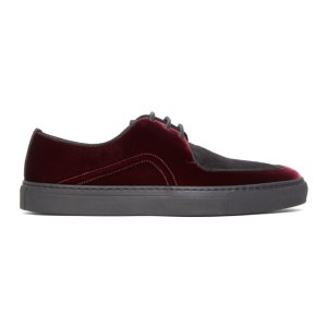 Human Recreational Services Red and Black Belmont Sneakers