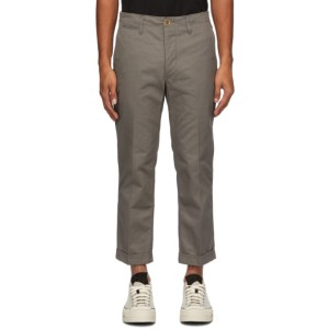 Visvim Grey High Water Chinos