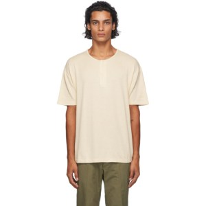 Visvim Off-White Jumbo Short Sleeve Henley