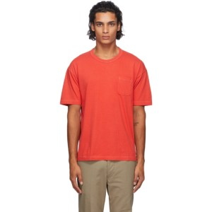 Visvim Three-Pack Multicolor Sublig Pocket T-Shirts