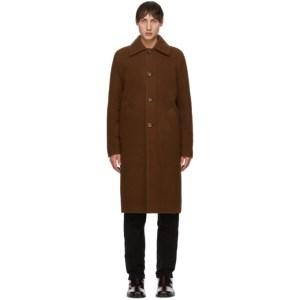 Sefr Brown Wool Ian Coat