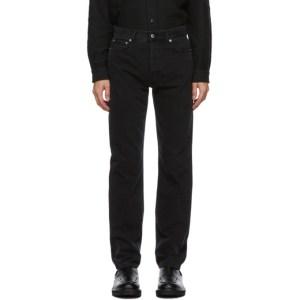 Sefr Black Straight-Cut Jeans