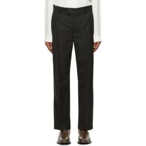 Sefr Black Wool Mike Suit Trousers