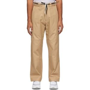 4SDESIGNS Khaki HD Twill Work Trousers