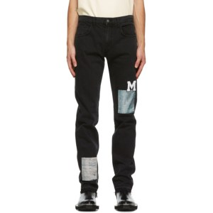 Mr. Saturday Black 5-Pocket Jeans