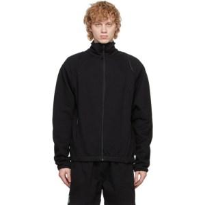 Saul Nash SSENSE Exclusive Black and Blue Shape-Shifter Tracktop Jacket
