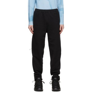Saul Nash Black Zip-Through Trousers