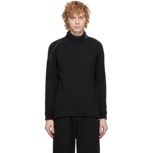 Saul Nash SSENSE Exclusive Black and Blue Hybrid Elephant Sweatshirt