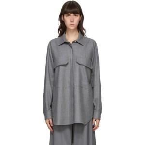 Bureau De Stil Grey Two-Pocket Shirt