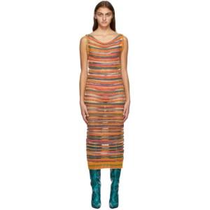 Louise Lyngh Bjerregaard Multicolor Wool Knit Dress