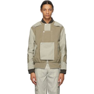 Georges Wendell SSENSE Exclusive Beige and Khaki Proposal A Jacket