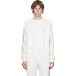 Haider Ackermann Off-White Logo Tape Sweatshirt