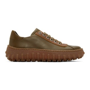 CamperLab Khaki and Brown Ground Sneakers