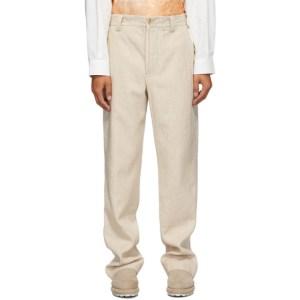 Jacquemus Beige Le Pantalon de Costume Trousers