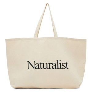 Museum of Peace and Quiet Beige Naturalist Tote