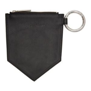 Yohji Yamamoto Black Bag Pocket Pouch