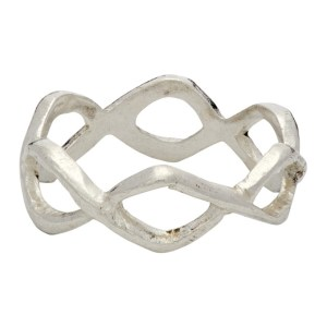 Georgia Kemball Silver Rope Ring
