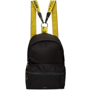 Off-White Black Nylon Mini Backpack