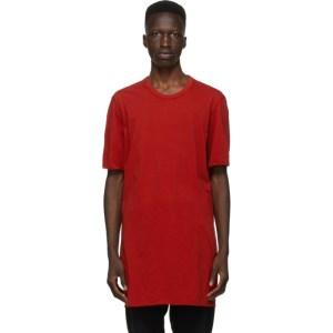 11 by Boris Bidjan Saberi Red Dye T-Shirt