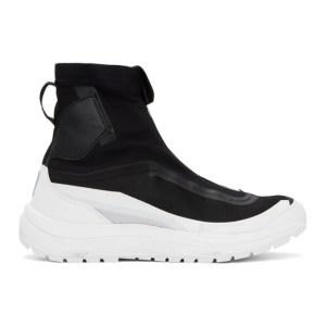 11 by Boris Bidjan Saberi Black Salomon Edition Bamba 2 High Sneakers