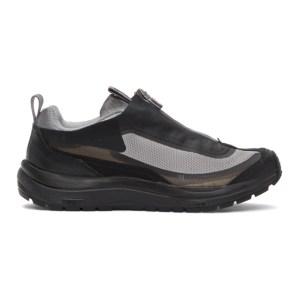 11 by Boris Bidjan Saberi Grey Salomon Edition Bamba 2 Low Sneakers