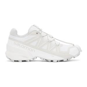 11 by Boris Bidjan Saberi White Salomon Edition Bamba 1.X Low Sneakers