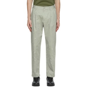 thisisneverthat Grey Crazy Work Trousers
