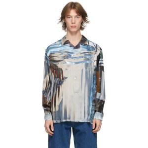 Eytys Multicolor David Brandon Geeting Edition Urban Debris Lumi Shirt