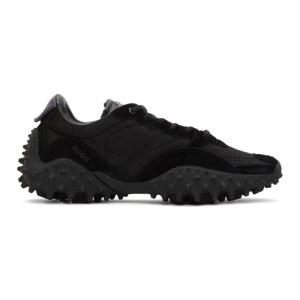 Eytys Black Suede Fugu Sneakers