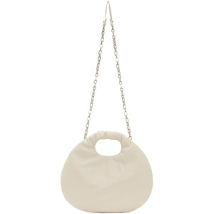 LOW CLASSIC Beige Egg Bag