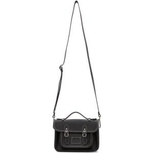 Comme des Garcons Girl Black The Cambridge Satchel Company Edition Bag
