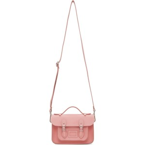Comme des Garcons Girl Pink The Cambridge Satchel Company Edition Bag