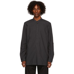 Toogood Black The Botanist Shirt