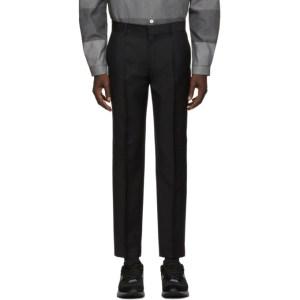 Harmony Black Wool Peter Trousers