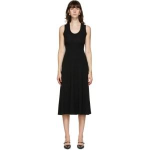 Rosetta Getty Black U-Neck Tank Dress