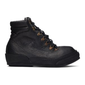 Guidi Black 19 Lace-Up Boots